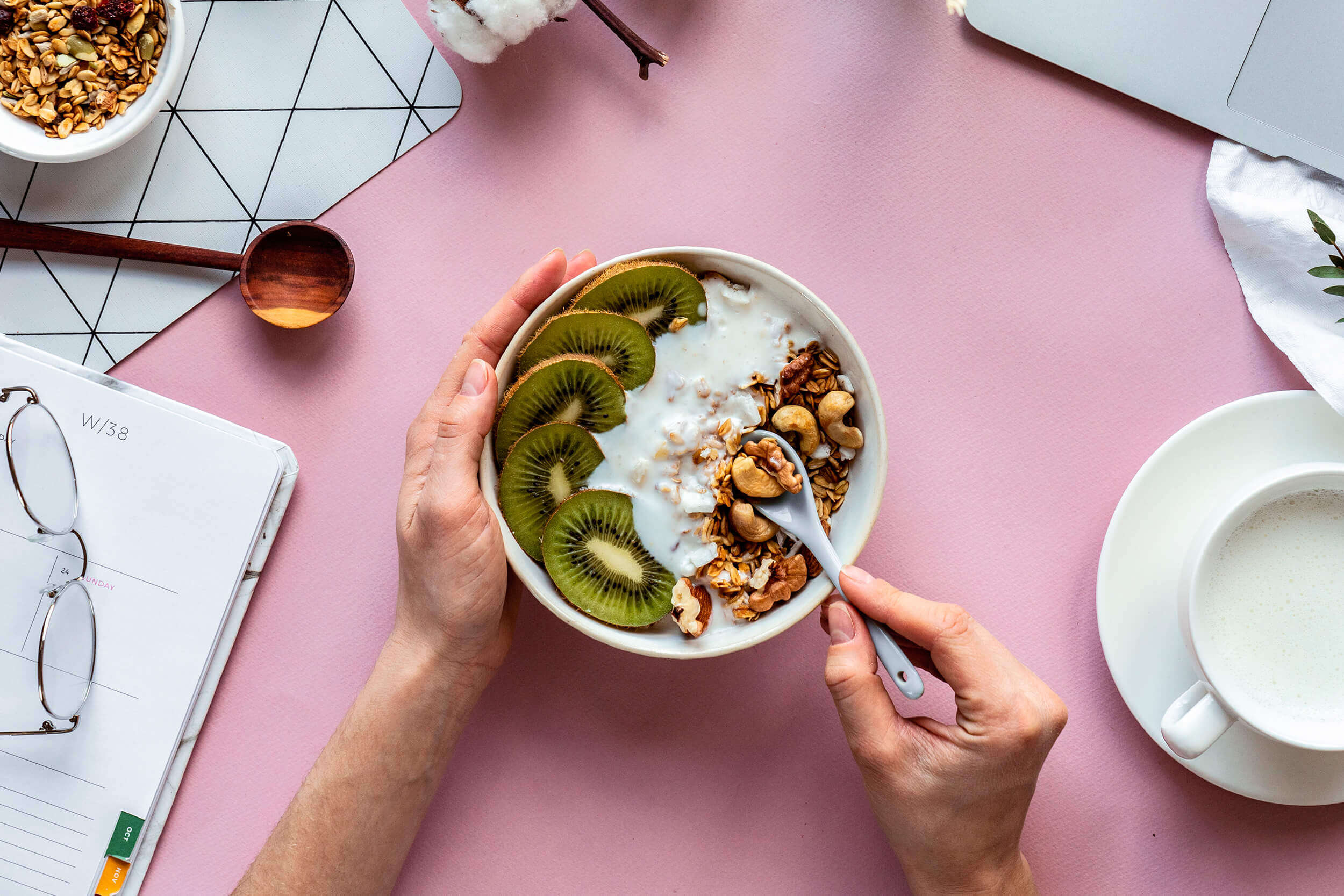 comer saludable cuarentena