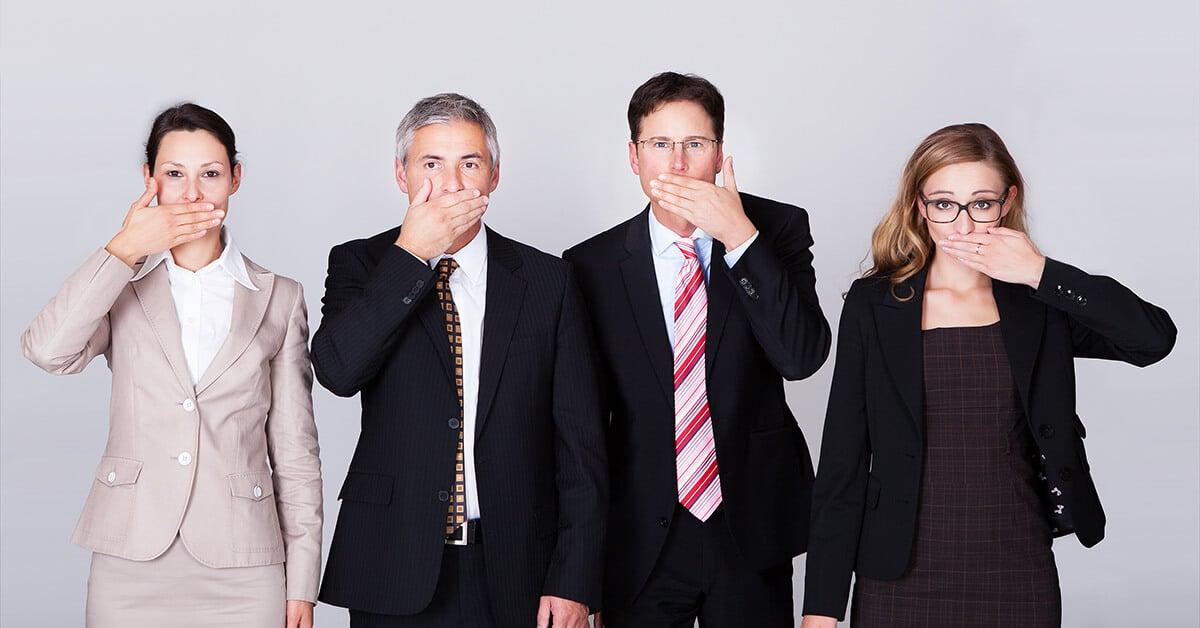 Silencios incómodos: Por qué nadie habla en las reuniones